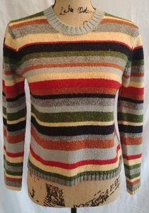 NYC multicolor striped sweater